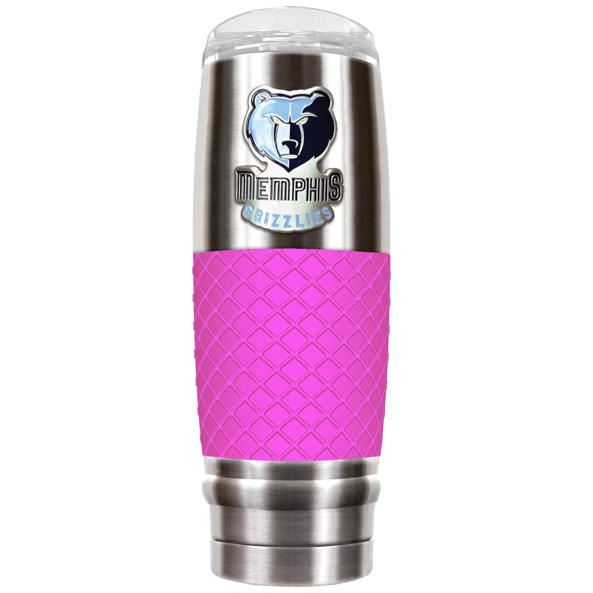Memphis Grizzlies 30oz. The Reserve Vacuum-Insulated Travel Tumbler - Pink - No Size