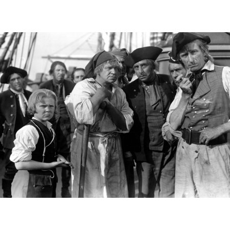 Treasure Island Jackie Cooper Wallace Beery 1934 Pirates On Ship Photo Print](Pirate Photos)