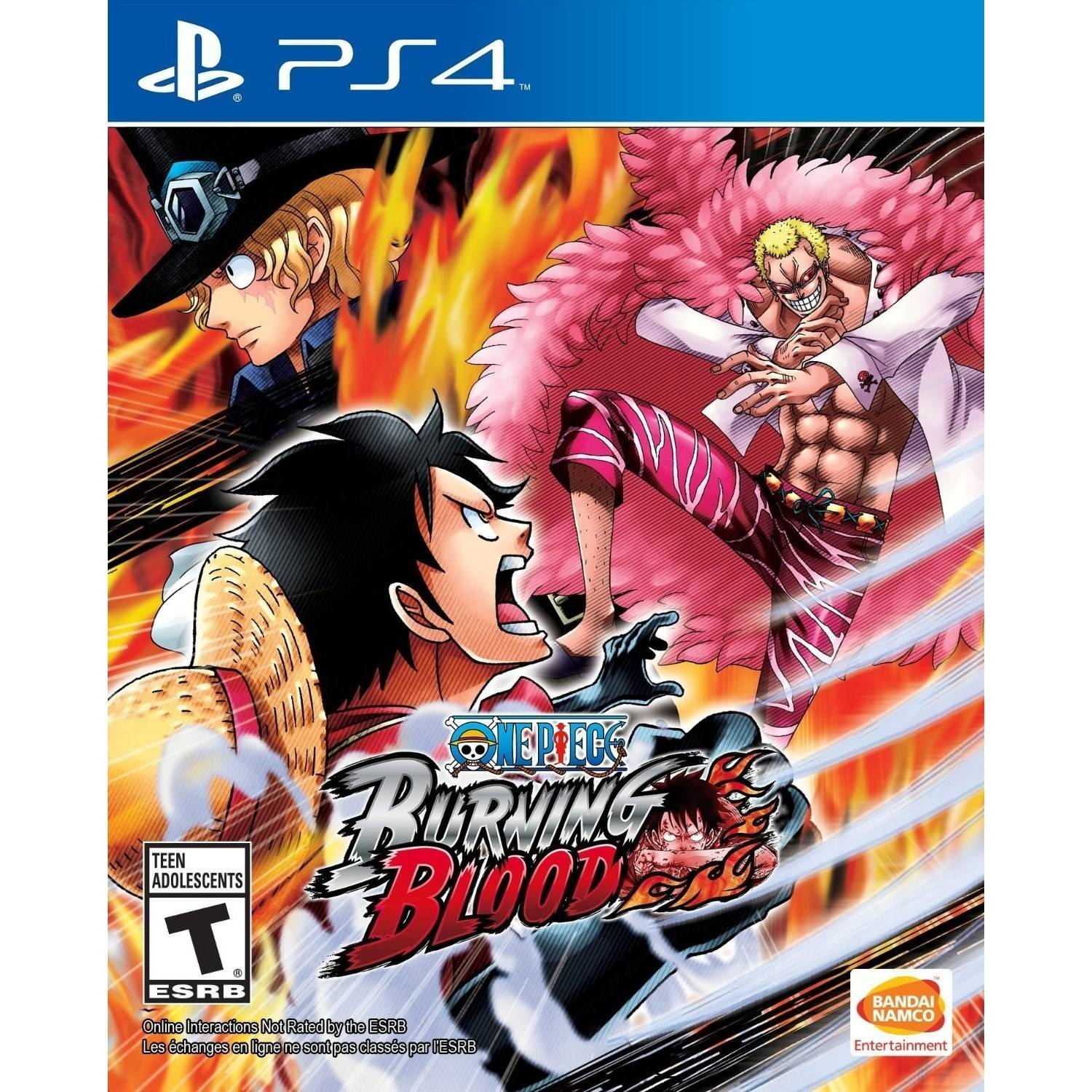 Bandai Namco ONE PIECE Burning Blood, Bandai/Namco, PlayStation 4, 722674120135