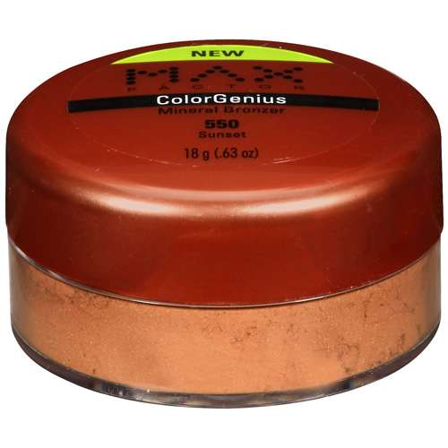 Max Factor Colorgenius: 550 Sunset Mineral Bronzer, .63 oz