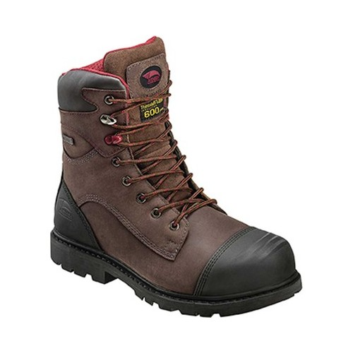 """Men's Avenger A7573 8"""" Insulated WP Carbon Toe PR EH Work Boot"""