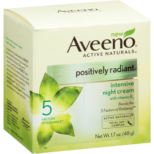 Aveeno Positively Radiant Intensive Night Cream, 1.7 OZ - Walmart.com