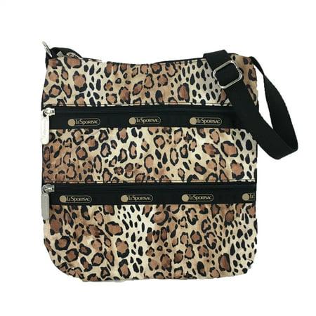 LeSportsac Kylie Animal Print Crossbody Bag, Ombre - Bag Cheetah