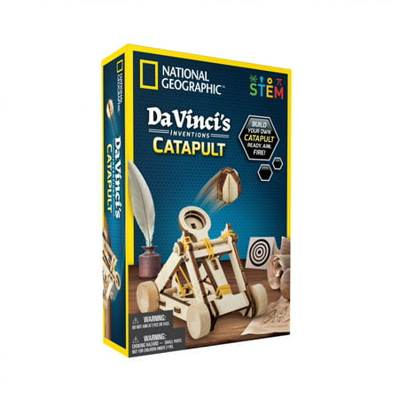 National Geographic Da Vinci's Inventions Catapult, STEM Toy Now $5 (Was $8.88)