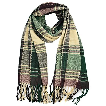 Sassy Apparel Unisex Soft and Warm Cold Weather Winter Oblong Scarf (Cold Weather Clothing Tips)