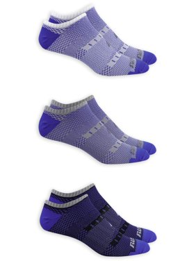 Performance Men's COOLFORCE 360 Mesh Flat Knit Lightweight No Show Socks 3 Pack