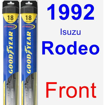 1992 Isuzu Rodeo Wiper Blade Set/Kit (Front) (2 Blades) - (1992 Rodeo)