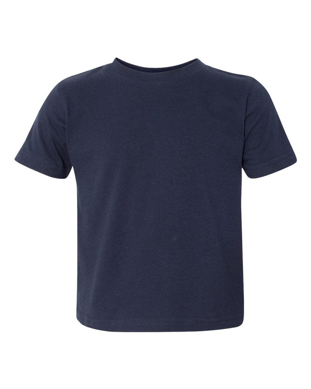 Rabbit Skins 3080 Toddler Fashion T-Shirt - White - 2 Toddler