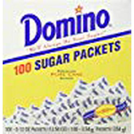 Domino 100 Sugar Packets Premium Cane Sugar KFP 12.50 Oz. Pk Of 3.