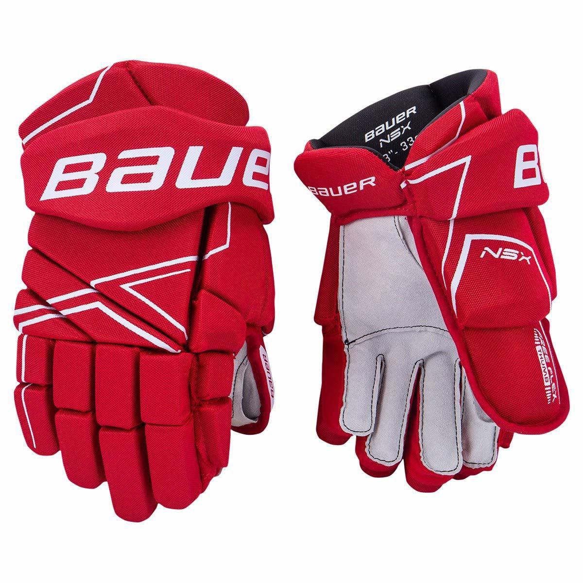 Bauer NSX Handschuh Senior schwarz Größe-Handschuh Bauer Farbe