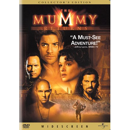 Mummy Returns  Dvd