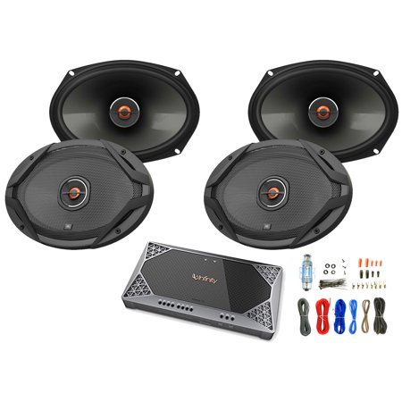 4x JBL 6x9 2 Way GX Series Car Audio Speakers With Tweeter Level Control