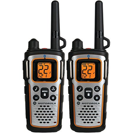 Motorola MU350R 35-Mile Range 22-Channel FRS/GMRS Two Way Bluetooth Radio  (Grey)