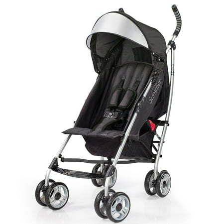 Summer Infant 3D Lite Convenience Stroller - (3 Wheel Double Strollers For Infant And Toddler)