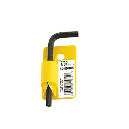 "Bondhus 15816 1/2"" Hex Tip Key L-Wrench w/ProGuard Finish,Tag&Barcode,Short Arm"