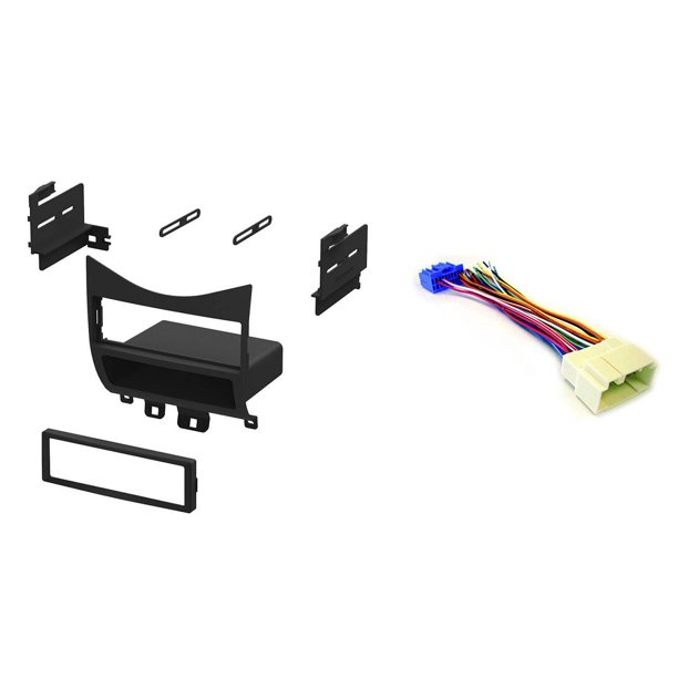 [QMVU_8575]  Xscorpion Honda Accord 03-07 Car Stereo Mount Dash Kit + Wiring Harness  Cables - Walmart.com - Walmart.com | Honda Accord Dash Wiring Harness |  | Walmart