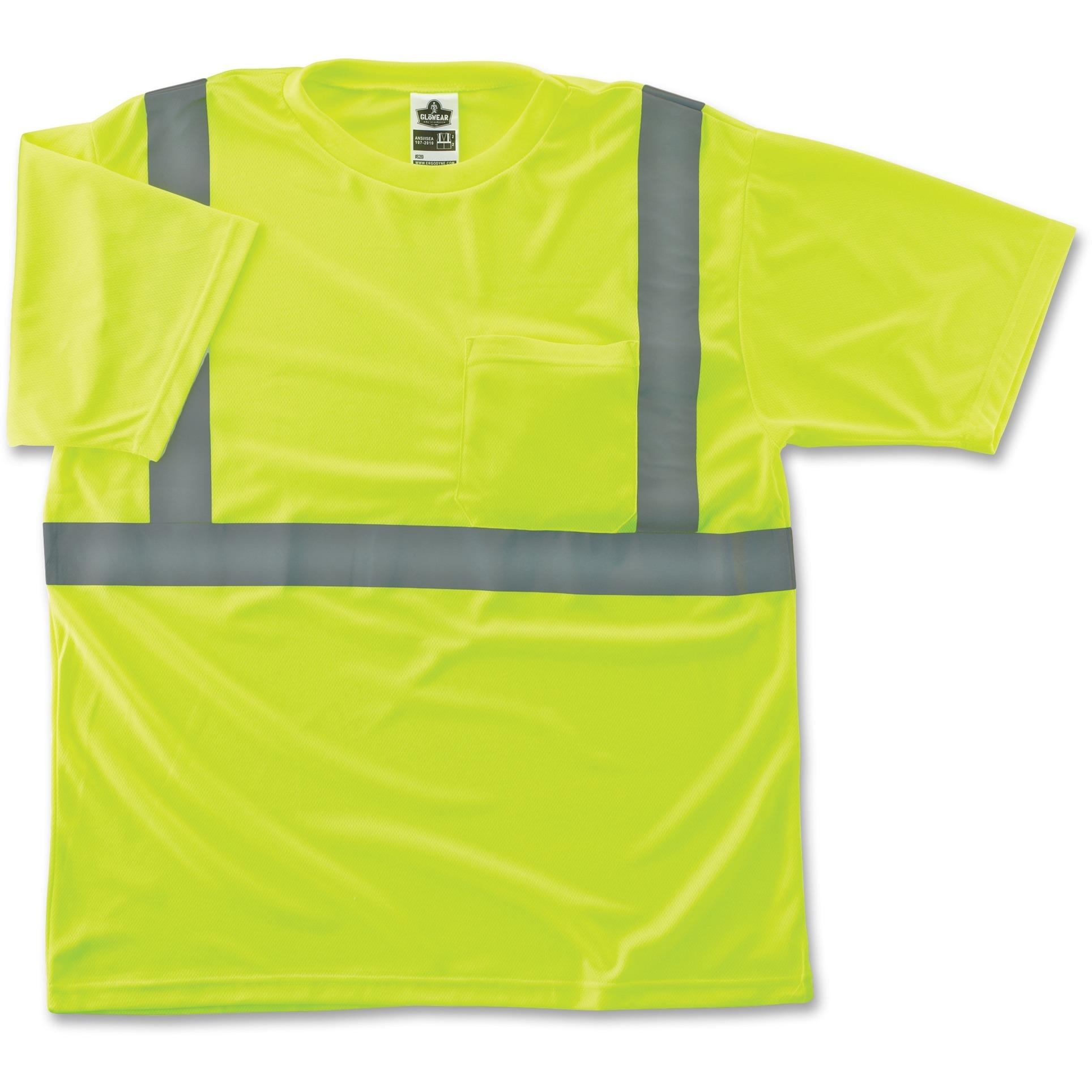 Class 2 Reflective Lime T-Shirt