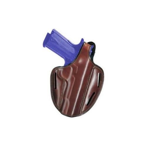 "Bianchi 18618 Shadow II Pancake Holster Tan Leather RH for S&W 2.5-3"" K Frames"