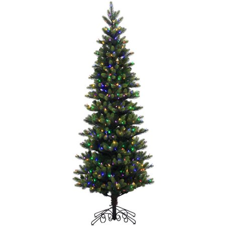 Vickerman Pre Lit 7 5 Instant Royal Artificial Christmas Tree  Led  Multicolor Lights