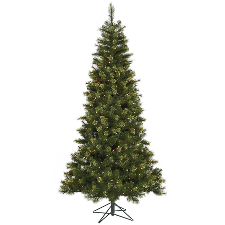 quality design da363 9b9c6 7.5' Pre-Lit Jack Pine Slim Artificial Christmas Tree - Clear LED Lights