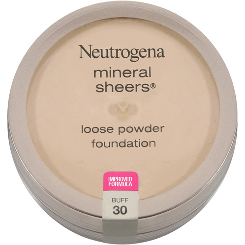 Neutrogena Mineral Sheers Loose Powder Foundation SPF 20, Buff 30, 0.19 oz
