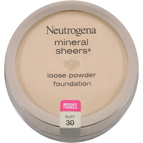 Neutrogena Mineral Sheers Loose Powder Foundation SPF 20, Buff 30, 0.19 oz