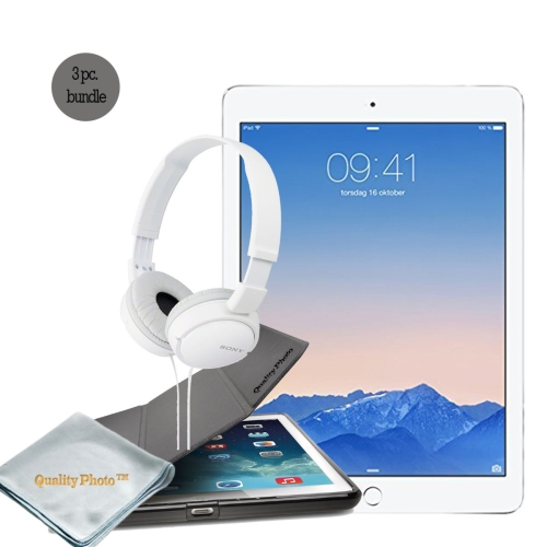 "Apple iPad Pro 12.9 Inch WiFi 128GB  -- With Basic Bundle, - iPad pro 12.9 ""Smart Case"" - ""Stereo Headphone"""