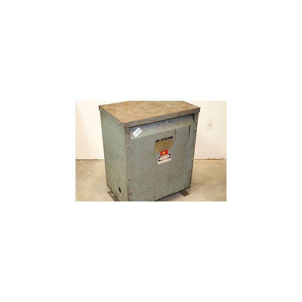 Square D 30T3h 30Kva Primary 480V Secondary 208Y/120V Ins...