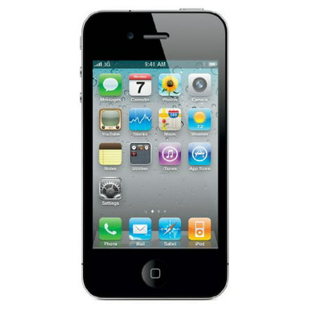 Apple iPhone 4S 16GB Factory Unlocked GSM Cell Phone - Black