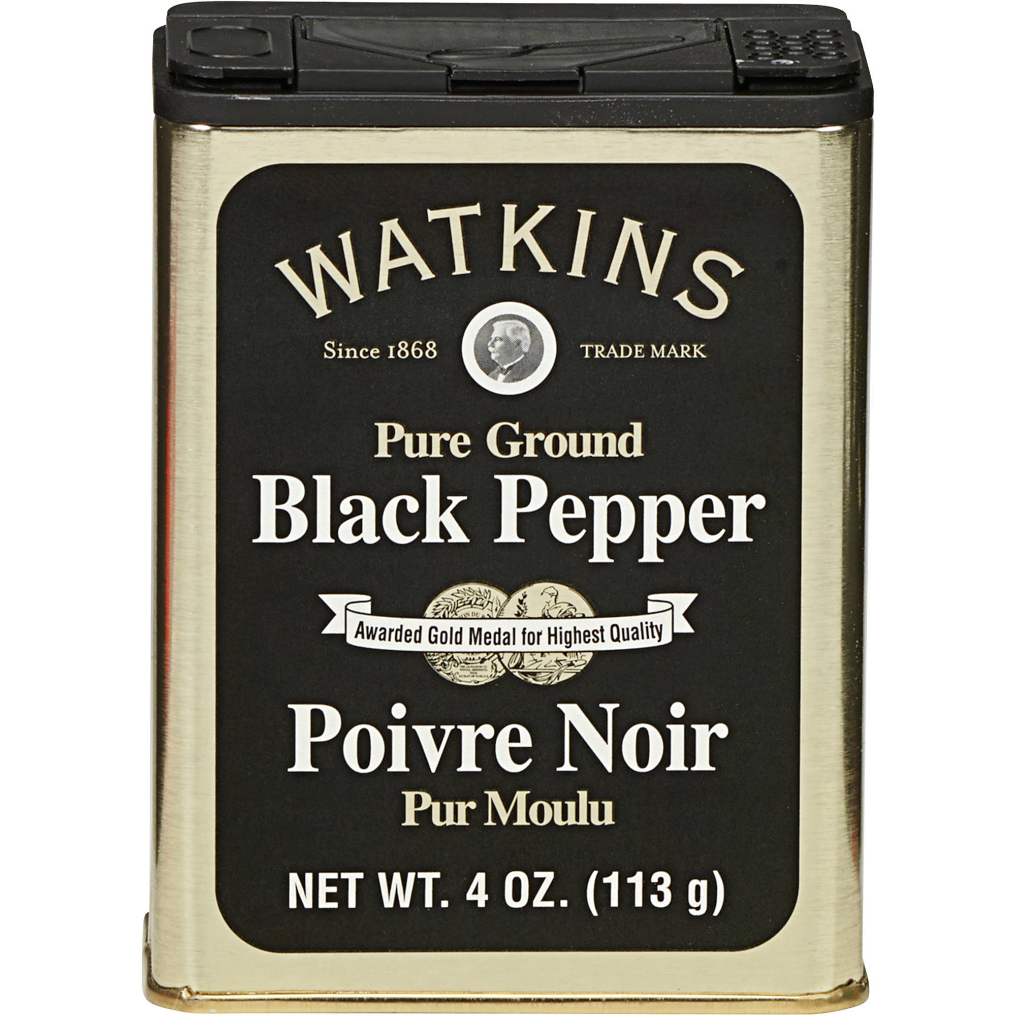 Watkins: Pure Ground Black Pepper, 4 oz