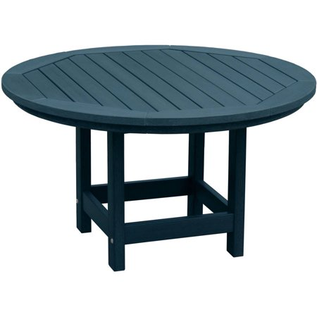 Highwood eco friendly round 36 diameter conversation coffee table Eco friendly coffee table