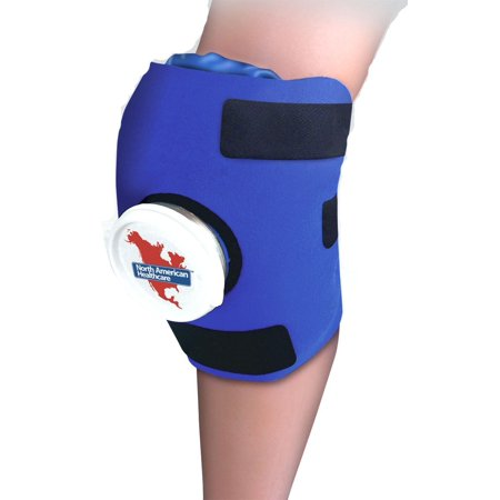 North American Healthcare Adjustable Knee Wrap Ice Pack Cold Therapy Therapeutic Sore Compression Swelling By Bythaishop