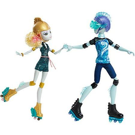 Monster High Dress Up Lagoona Blue (Monster High Lagoona Blue and Gil Weber Wheel Love, Doll)
