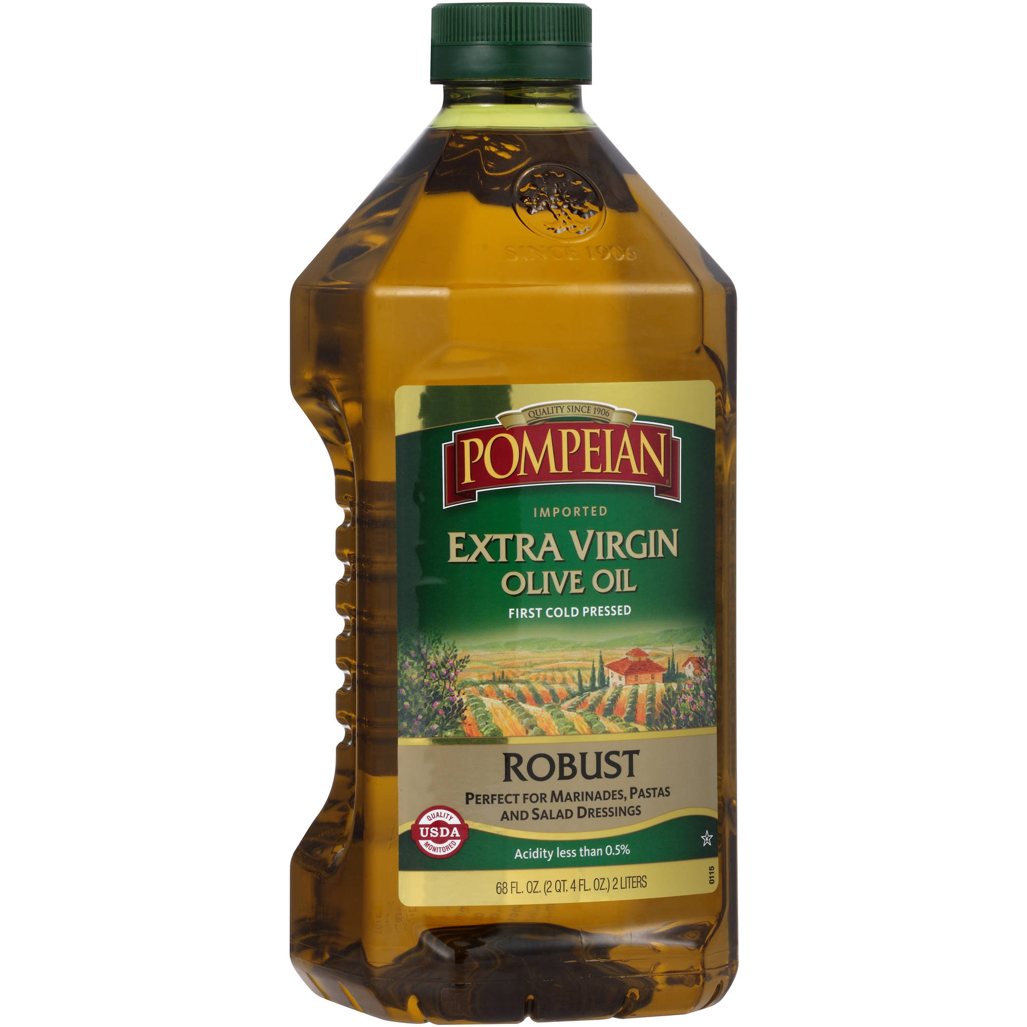 Pompeian® Robust Imported Extra Virgin Olive Oil 68 fl. oz. Plastic Bottle