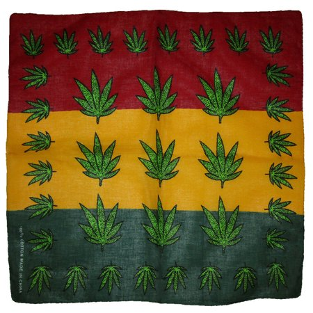 Wholesale Lot of 3 Multiple Weed Leaf 100% Cotton 22