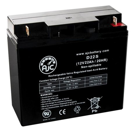 Rad2Go Q Electric Chariot 12V 22Ah Electric Scooter Battery - This is an AJC Brand Replacement - image 5 de 5