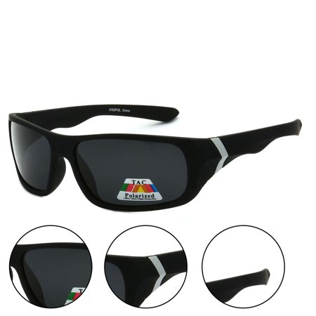 a4d6ebfa8d5e Epic Eyewear - Polarized Wrap Around Full Frame Sunglasses - Black White -  Walmart.com