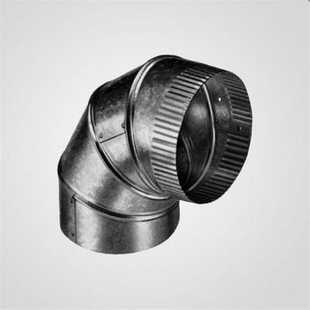 Lindemann 350203 3 Inch X 90 Degree Elbow Galvanized Pipe