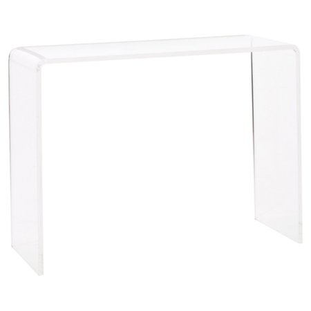 Fox Hill Trading Acrylic Console Table