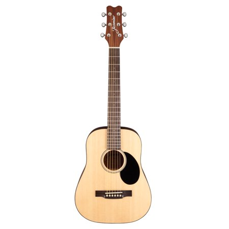 Jasmine JM10 Mini Acoustic Guitar With Gig Bag Gloss Natural Finish (Acoustic Guitar Gloss Natural)