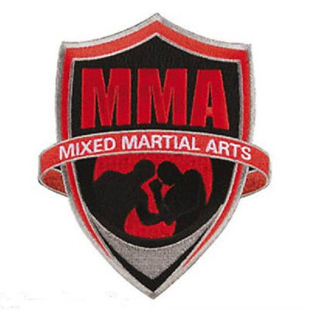 MMA Patch Mixed Martial Arts 08120 (Japanese Martial Arts Patches)