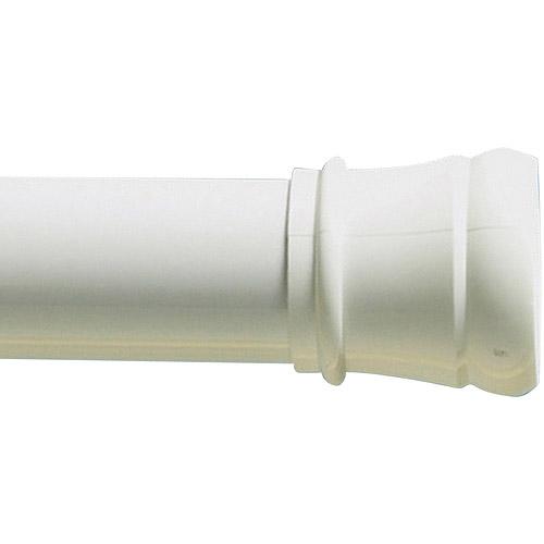 """Zenith Products 40"""" Tension TwistTight Shower Rod, White"""