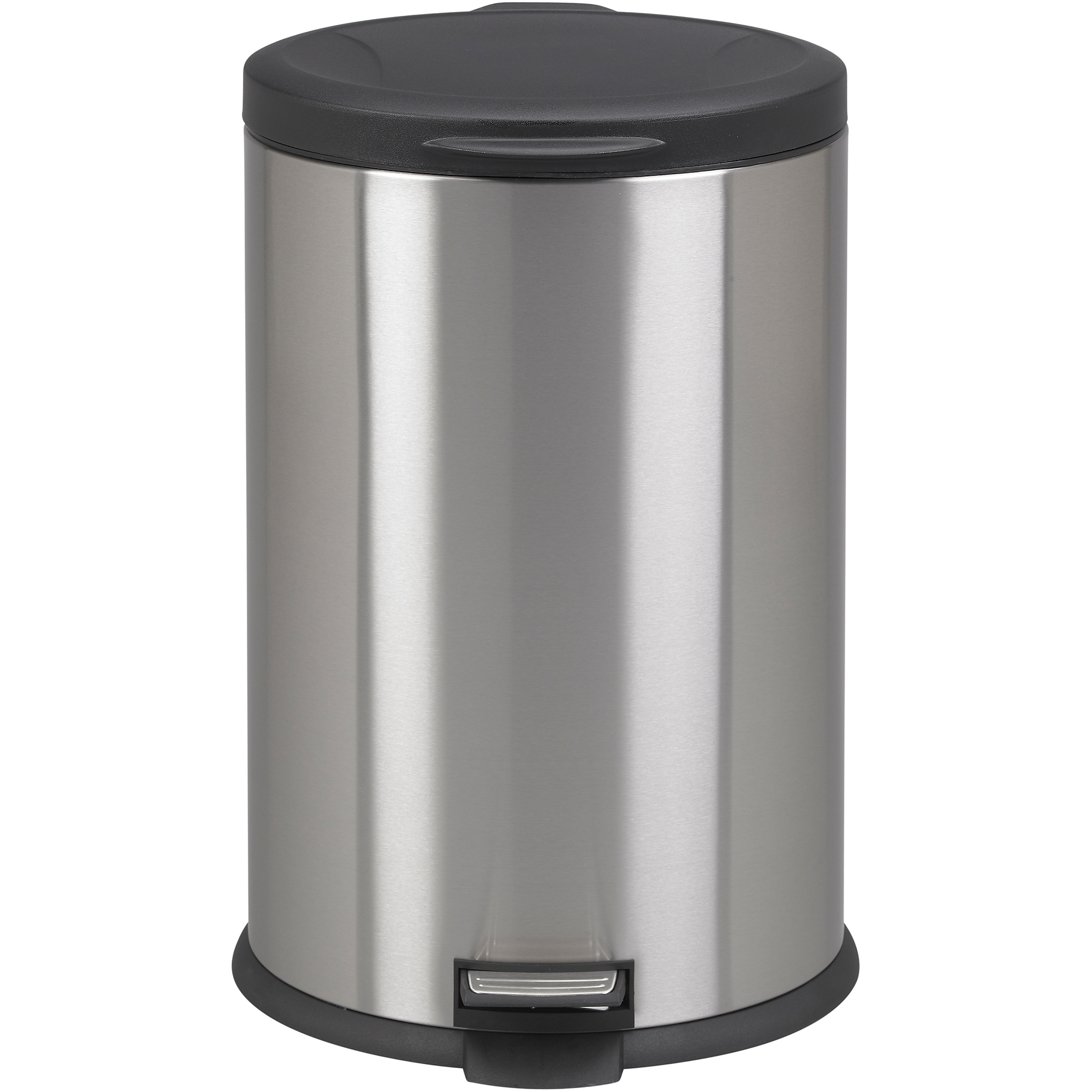 Better homes garden 10 5 gallon oval stainless steel - Better homes and gardens trash can ...