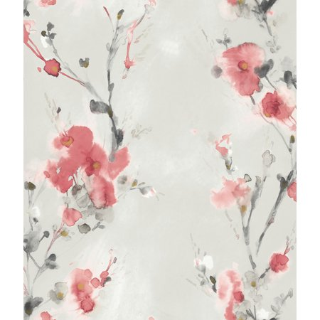 York Peel and Stick Wallpaper Charm  Red PSW1100RL Simply Candice