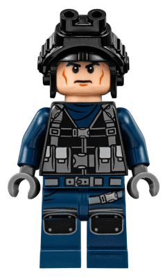 with Goggles from set 75931 Lego Jurassic World Minifigure GUARD New Male