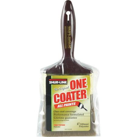 Shur Line 4 Flat Sable Paint Brush (4 Flat Poly Brush)