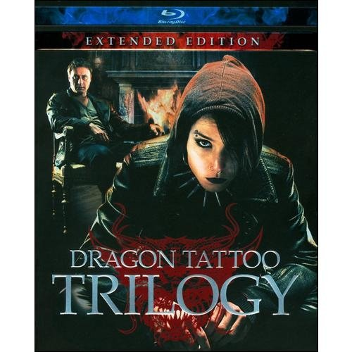 The Dragon Tattoo Trilogy: Extended Edition (Blu-ray) (Swedish) (Widescreen)