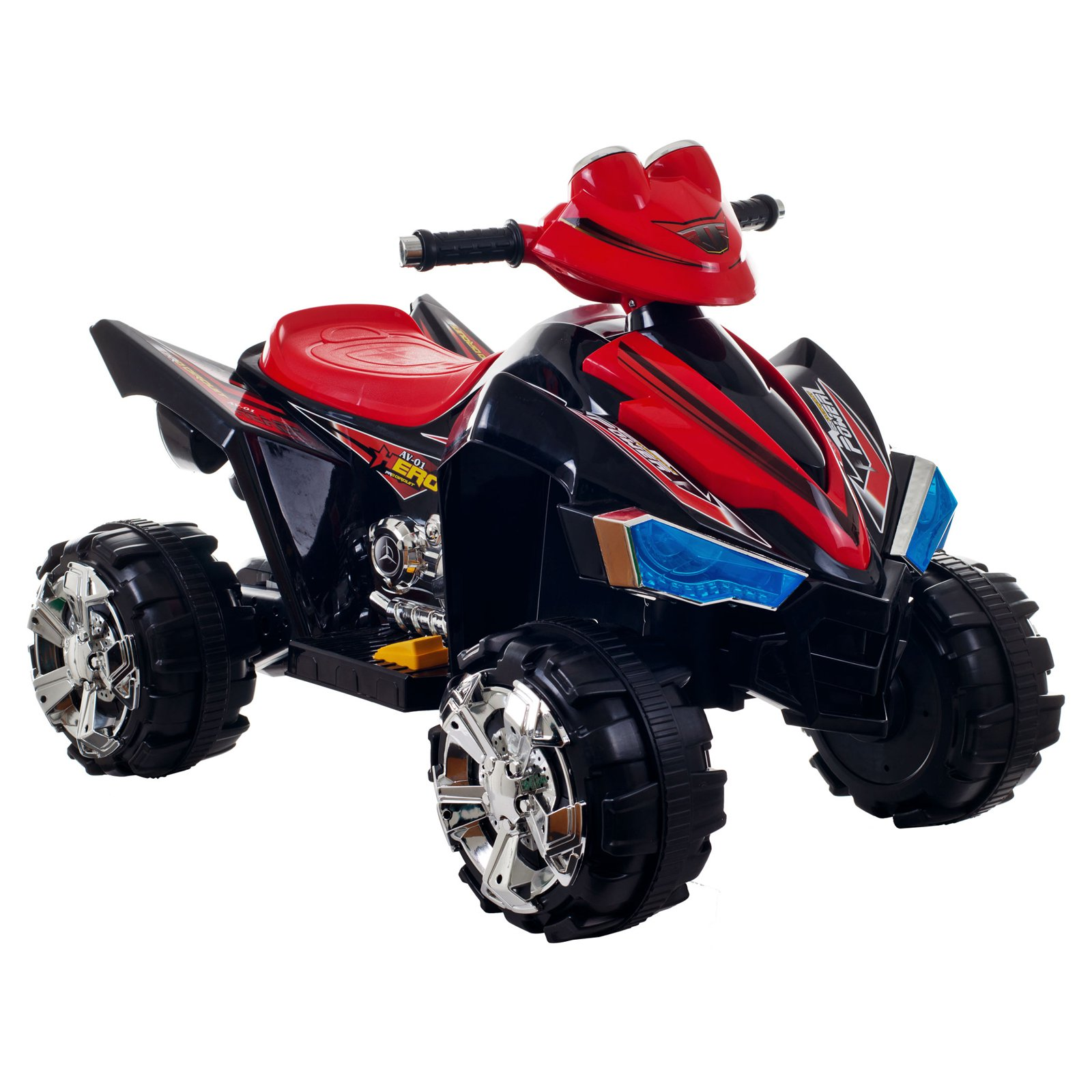 Ride On Toy Quad Battery Powered Atv Four Wheeler With How To Build Bird Sound Effects Generator Circuit By Lil Rider Toys For Boys And Girls 2 5 Year Olds Black