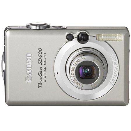 Canon 6 MP PowerShot SD600 Digital Camera