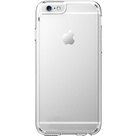 Clear Hardshell (CellularOutfitter Apple iPhone 6 Plus/6s Plus Feather Phone Case - Slim Fit Hard Shell Exterior - Clear)